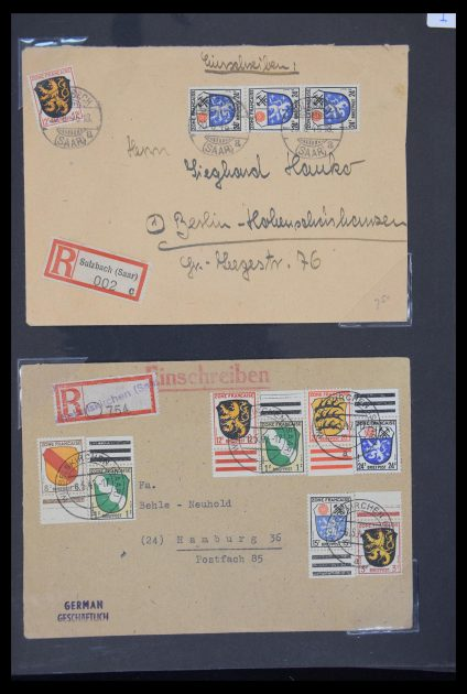 Stamp collection 30234 Germany French Zone 1946-1949.