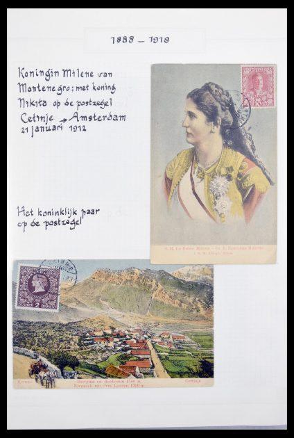 Stamp collection 30246 Montenegro brieven 1880-1912.