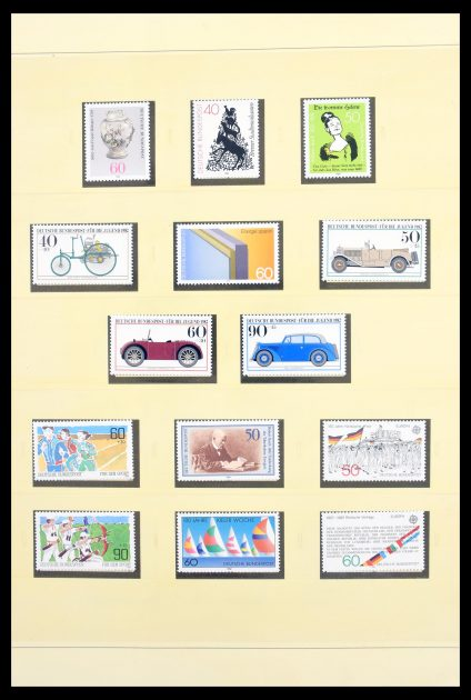 Stamp collection 30252 Bundespost 1982-2000.