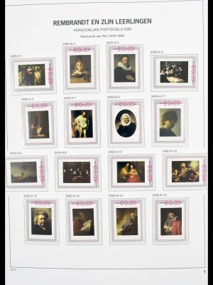 Stamp collection 30272 Netherlands personalised stamps 2006-2013.