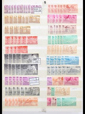 Stamp collection 30273 Indonesia stock 1948-2017!!