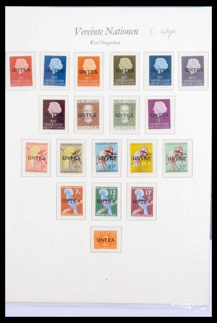 Stamp collection 30277 Dutch New Guinea UNTEA 1962.
