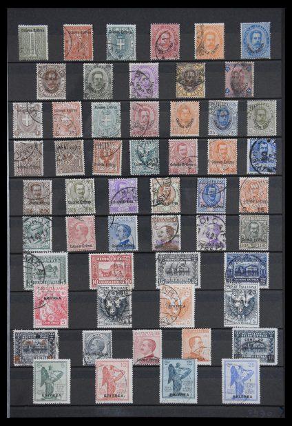 Stamp collection 30285 Italian Eritrea 1893-1936.