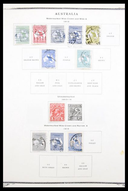 Stamp collection 30289 British Colonies in the pacific 1900-1980.