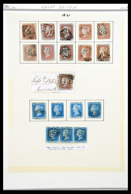 Stamp collection 30294 Great Britain 1840-1993.