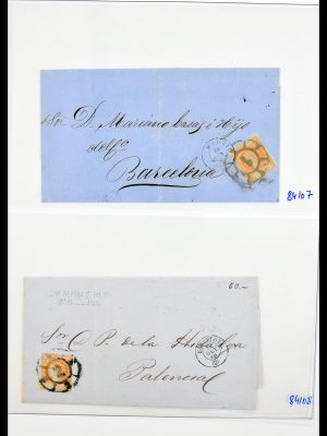 Stamp collection 30301 Spain 1852-1900.