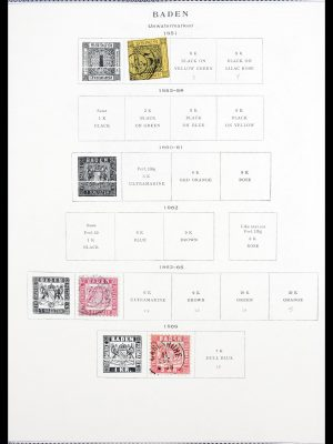Stamp collection 30336 Germany 1850-1999.
