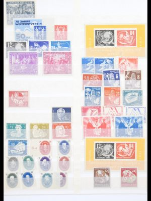 Stamp collection 30343 DDR gigantic stock 1949-1990.