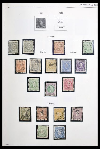Stamp collection 30349 Dutch Colonies 1870-1981.