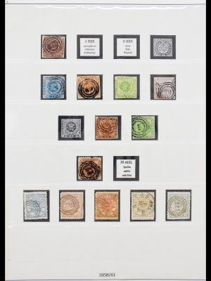 Stamp collection 30356 Denmark 1858-1976.