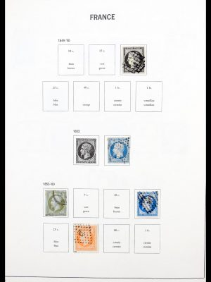 Stamp collection 30369 France 1849-1999.