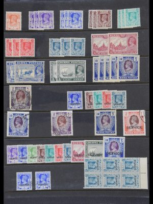 Stamp collection 30375 British Commonwealth.