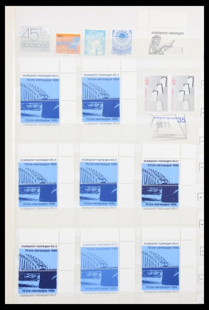 Stamp collection 30379 Netherlands localpost to 2005.