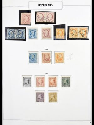 Stamp collection 30395 Netherlands 1852-1970.