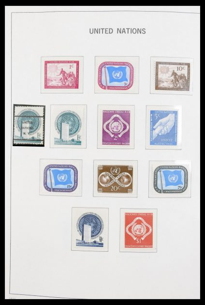 Stamp collection 30411 United Nations 1951-1998.