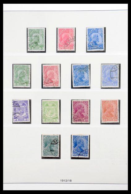 Stamp collection 30416 Liechtenstein complete collection 1912-1959.
