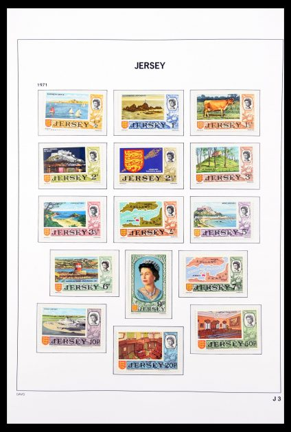 Stamp collection 30456 Jersey 1969-2016!
