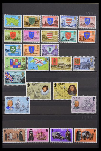 Stamp collection 30457 Jersey 1976-2016!
