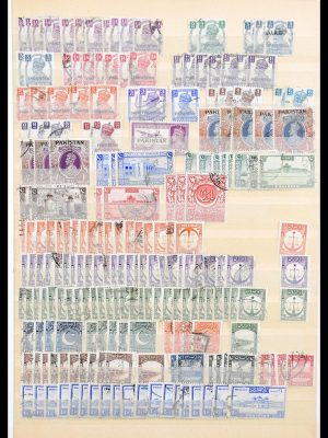 Stamp collection 30473 Pakistan 1947-1982.