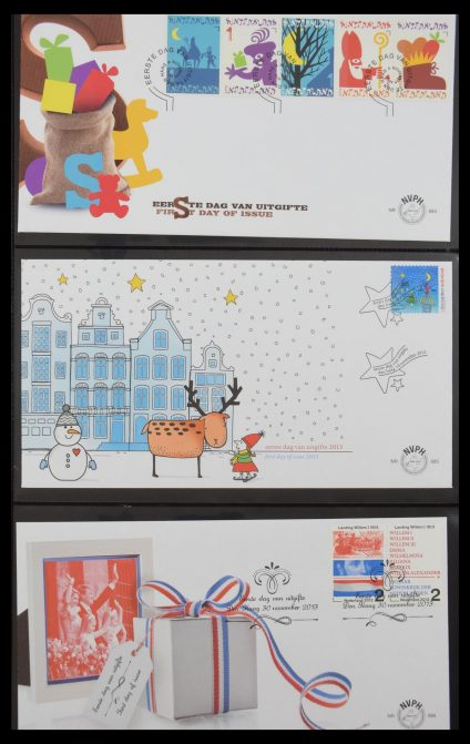 Stamp collection 30479 Netherlands FDC's 1983-dec. 2013.