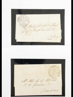 Stamp collection 30483 Papal State 1829-1870.