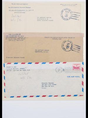 Stamp collection 30486 USA 1944-1951.