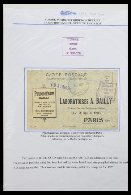 Stamp collection 30496 Timbre tombé 1910-1950.