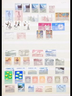 Stamp collection 30504 Norway 1976-1999.