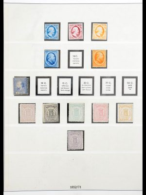 Stamp collection 30517 Netherlands 1852-1945.