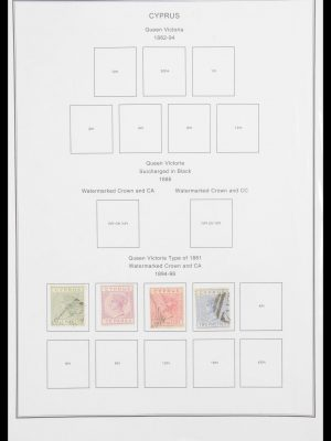 Stamp collection 30540 British colonies in Europe 1860-2008.