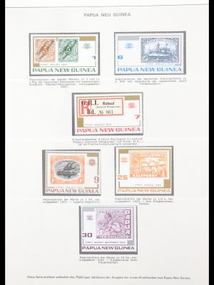 Stamp collection 30544 Papua New Guinea 1974-2006.