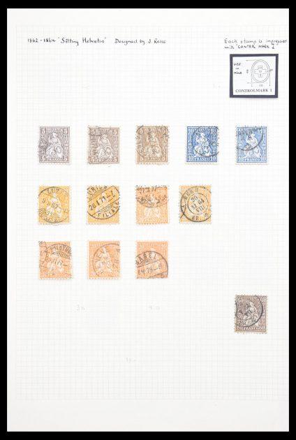 Stamp collection 30557 Switzerland 1854-1959.