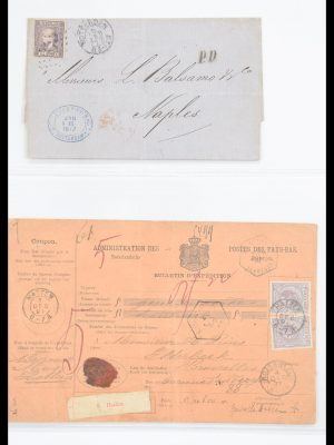 Stamp collection 30579 Netherlands covers 1872-1949.