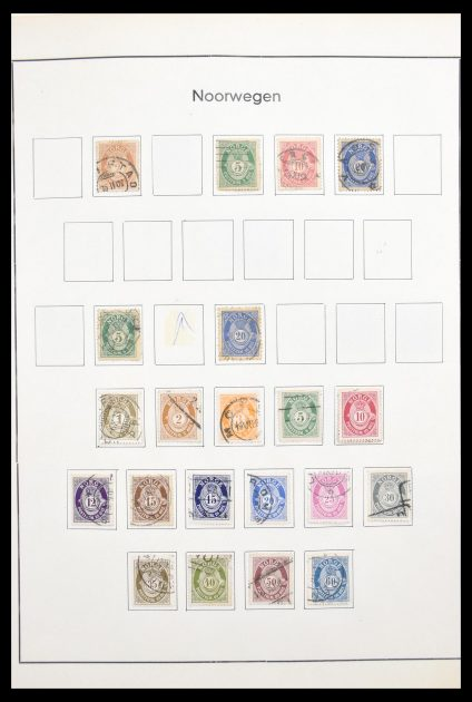 Stamp collection 30582 Scandinavia 1855-1971.