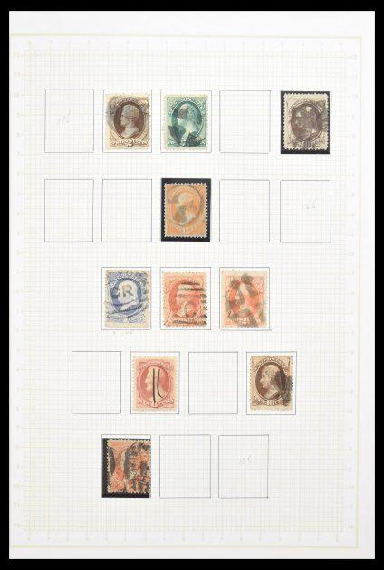 Stamp collection 30584 USA 1851-1969.
