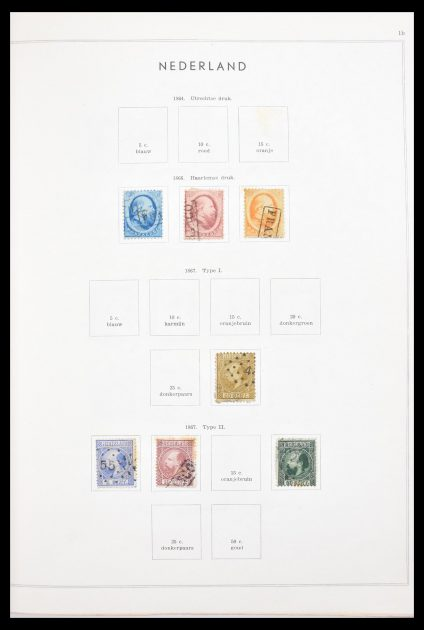 Stamp collection 30591 Netherlands and Dutch east Indies 1852-1964.