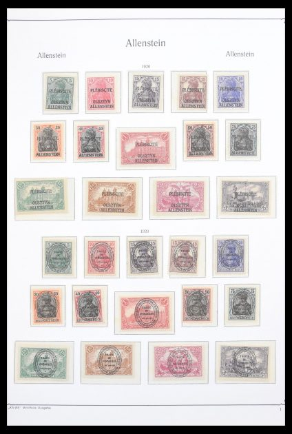 Stamp collection 30596 German territories 1918-1939.