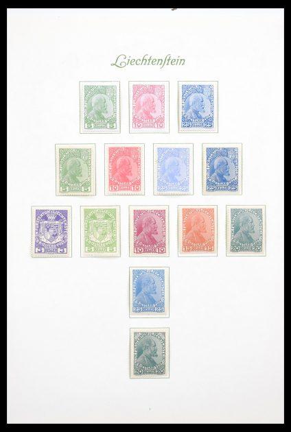 Stamp collection 30597 Liechtenstein complete collection 1912-1966.