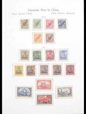 Stamp collection 30603 German offices and colonies 1884-1919.