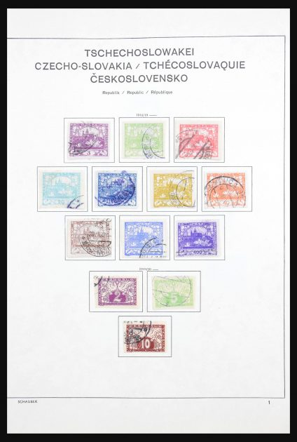 Stamp collection 30606 Czechoslovakia 1918-1983.