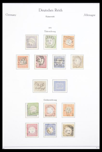Stamp collection 30608 German Reich complete collection 1872-1945!!