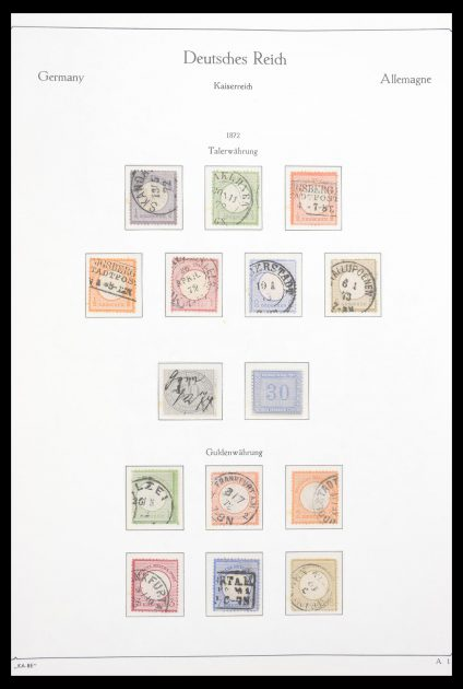 Stamp collection 30610 German Reich complete collection 1872-1945!!