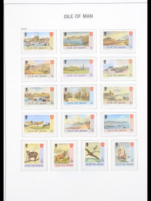 Stamp collection 30618 Isle of Man 1973-1995.