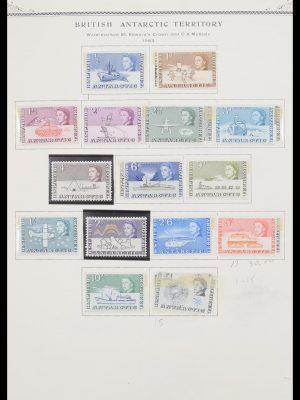 Stamp collection 30621 BAT/AAT 1958-2005.