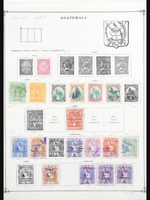 Stamp collection 30625 Latin America 1850-1980.