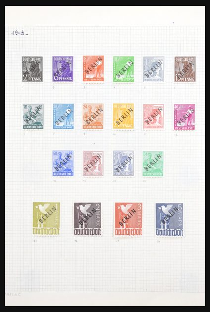 Stamp collection 30636 Germany 1948-2001.
