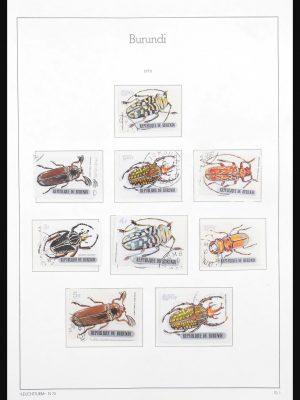 Stamp collection 30640 Burundi/Congo/Zaire/Rwanda 1970-1993.
