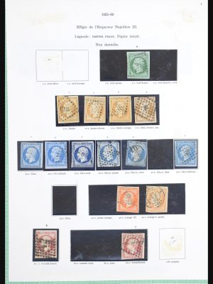 Stamp collection 30642 France 1849-1995.