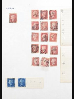 Stamp collection 30643 Great Britain 1858-2000.