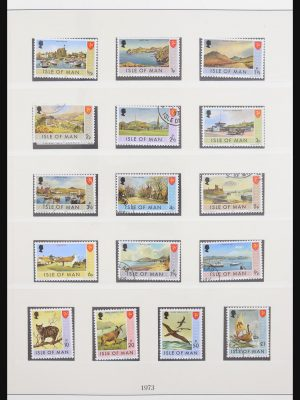 Stamp collection 30644 Isle of Man 1973-2010.